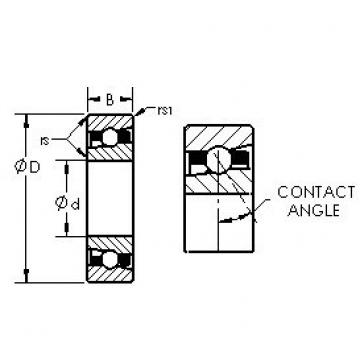 AST H71914AC/HQ1 angular contact ball bearings
