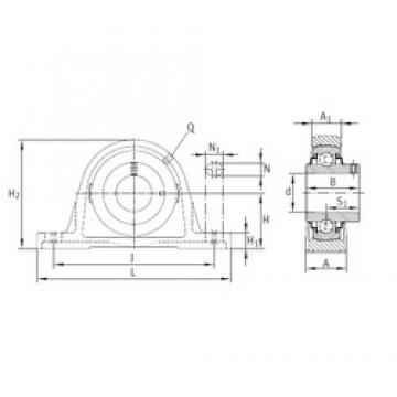 INA RASEY16 bearing units
