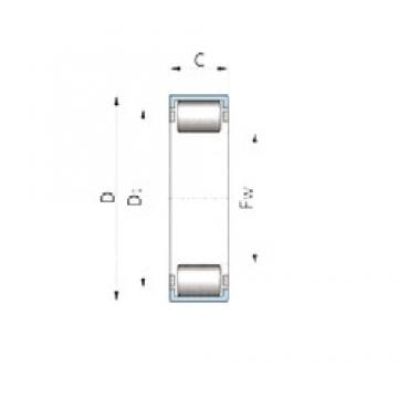 INA F-222253.HK cylindrical roller bearings