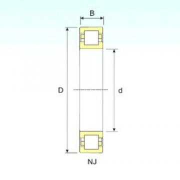 75 mm x 160 mm x 37 mm  ISB NUP 315 cylindrical roller bearings