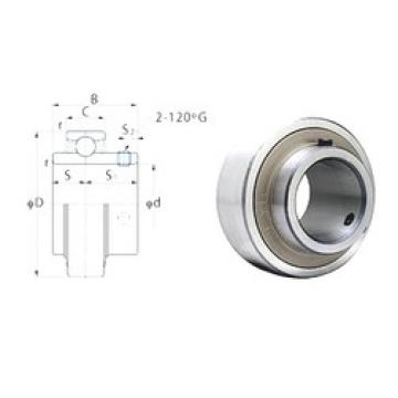 30 mm x 62 mm x 38,1 mm  FYH RB206 deep groove ball bearings