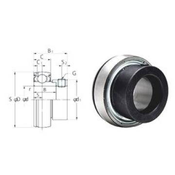 17 mm x 40 mm x 19,1 mm  FYH SA203F deep groove ball bearings