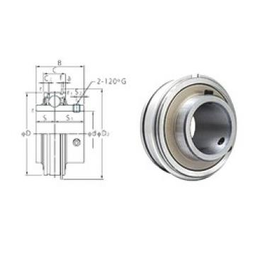 35 mm x 72 mm x 42,9 mm  FYH ER207 deep groove ball bearings