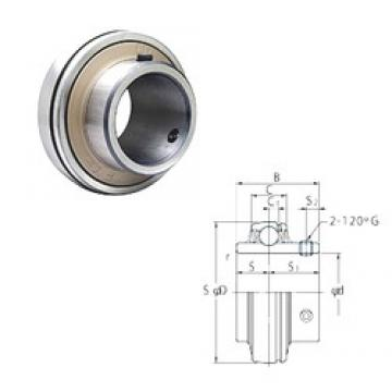 75 mm x 160 mm x 82 mm  FYH UC315 deep groove ball bearings