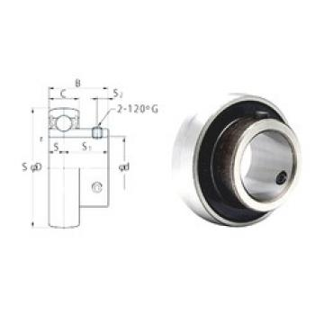 22,225 mm x 52 mm x 27 mm  FYH SB205-14 deep groove ball bearings