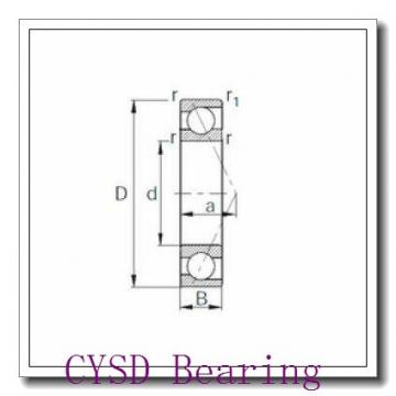 9,525 mm x 22,225 mm x 7,142 mm  CYSD R6-Z deep groove ball bearings