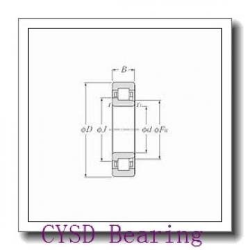 10 mm x 35 mm x 11 mm  CYSD 6300-ZZ deep groove ball bearings