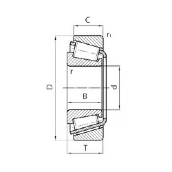 150 mm x 270 mm x 45 mm  CYSD 30230 tapered roller bearings #3 image